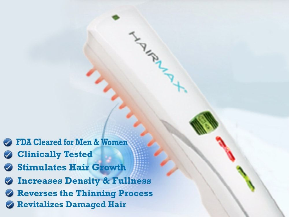 Hairmax laser comb